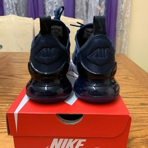Nike Shoes - Nike Air Max 270 - Midnight Navy - size 4.5Y